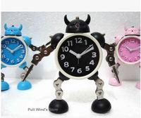 Magical little monster wekker cartoon armor klok gepersonaliseerde machine klok cool robot klok kerstcadeaus