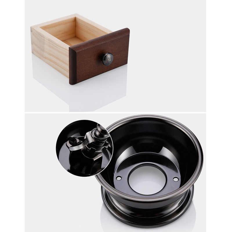Горячая продажа высокого качества ретро дизайн мини ручная кофейная мельница деревянная антикварная ручная Кофемолки в подарок