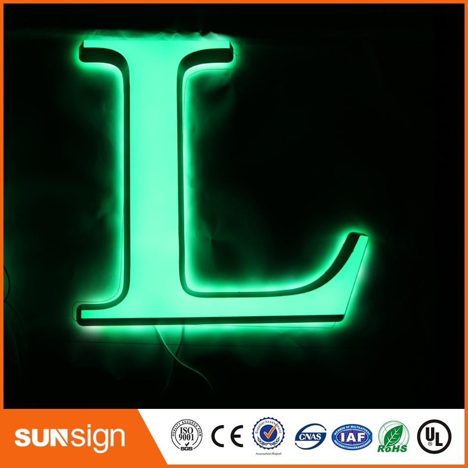 Custom Diy Store Decorative Illuminated Sign Letters