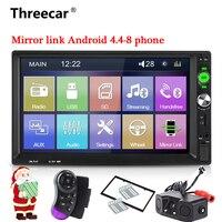 2 din Car Radio 7 HD Autoradio Multimedia Player 2DIN mirrorlink Touch Screen Auto audio Car Stereo MP5 Bluetooth USB TF FM Cam