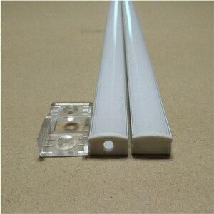 Image 4 - 10 40 компл./Лот, светодиодный алюминиевый профиль длиной 20 80 м, длиной 2 м/80 дюймов для светодиодной панели, 12 мм фотоэлемент, корпус полосы