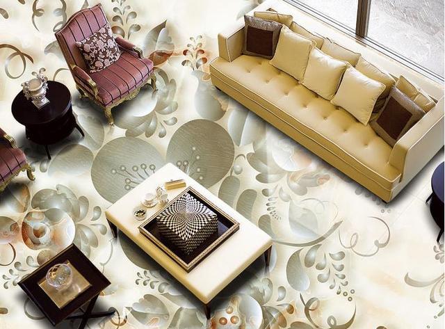 3d Fußboden Wald ~ D boden benutzerdefinierte tapete wohnzimmer geprägt marmor