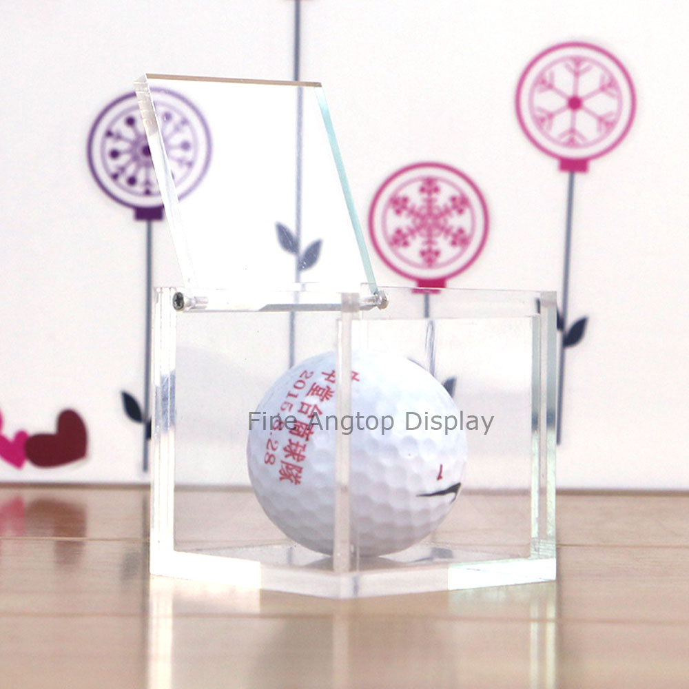 10x10x10cm plastic acrylic transparent  wedding gift storage box jewelry collection box