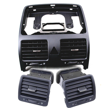 Un set TUKE OEM Anteriore Sinistra Destra Centrale Dashboard Air Vent Set Per VW Golf MK5 Coniglio Jetta MKV 1K0819703 1K0819704 1K0819728