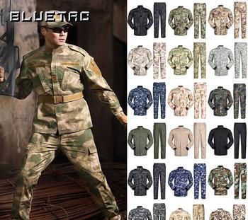Airsoft Military Tactical Uniform Sets Special Force Combat Uniform Jacket & Pants Suits