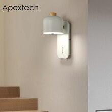 Apextech LED Wall Light Bedroom Lamp Bedside Reading Modern Nordic Home Living room Deco Lights AC100-265V