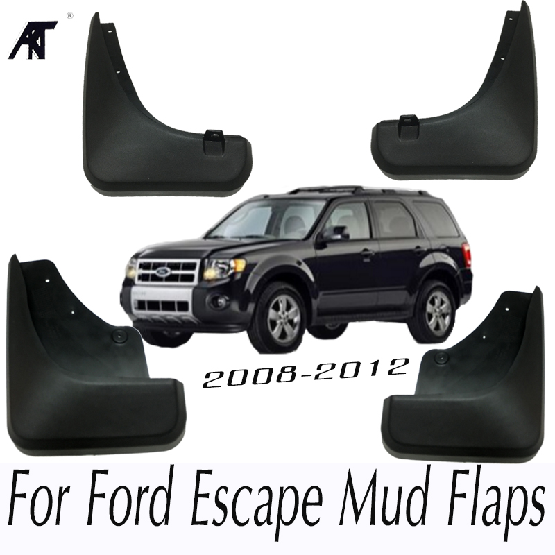 Car Mud Flaps For Ford Escape 2008-2012 Mercury Mariner 2009 2010 2011 Mudflaps Splash Guards Front Rear Mudguards Fender for volkswagen vw beetle 2012 2017 front rear molded car mud flaps mudflaps splash guards mud flap mudguards fender