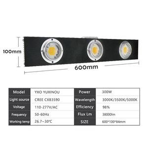 Image 3 - CREE CXB3590 300W COB LED Grow Light Full Spectrum LED Lamp 3500K =HPS 600W Growing Lamp Indoor Plant Growth Panel Lighting
