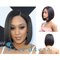 12inch cheap good quality lace front black wigs short wigs for women straight hair bob wigs short synthetic wigs for black women