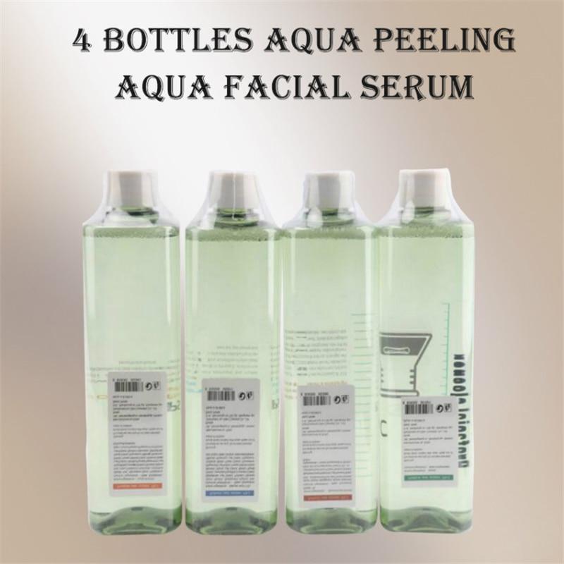 Hydra 4 Bottle Facial Serum For Water Dermabrasion Skin Cleansing Machine Aqua Peeling Solution Per Bottle Aqua Facial Serum CE