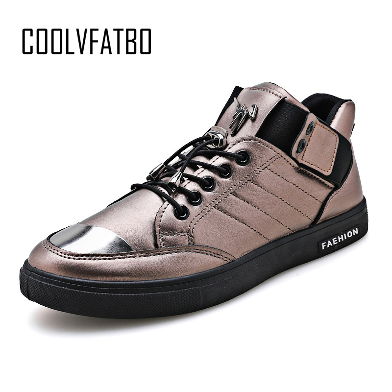Men's Vulcanize Shoes Tireless Coolvfatbo Mens Vulcanize Shoes Solid Shallow Lace-up Designer Sneakers For Students Cotton Fabric Increase Men High Top Shoes Beautiful In Colour
