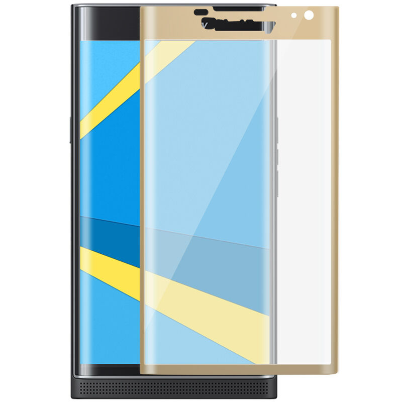 3D Full Curved Silk Edge Protective Tempered Glass for Blackberry Priv Screen Protector for Blackberry Priv Glass Film(China)