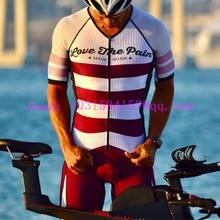 2019 Love The Pain мужской комбинезон горный велосипед триатлонный костюм Одежда для велоспорта на открытом воздухе skinsuit быстросохнущая веревка ciclismo купальники