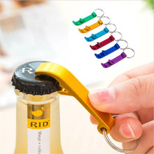 Mini Pocket Key Chain Beer Bottle Opener Claw Bar Small Beverage Key chain Ring