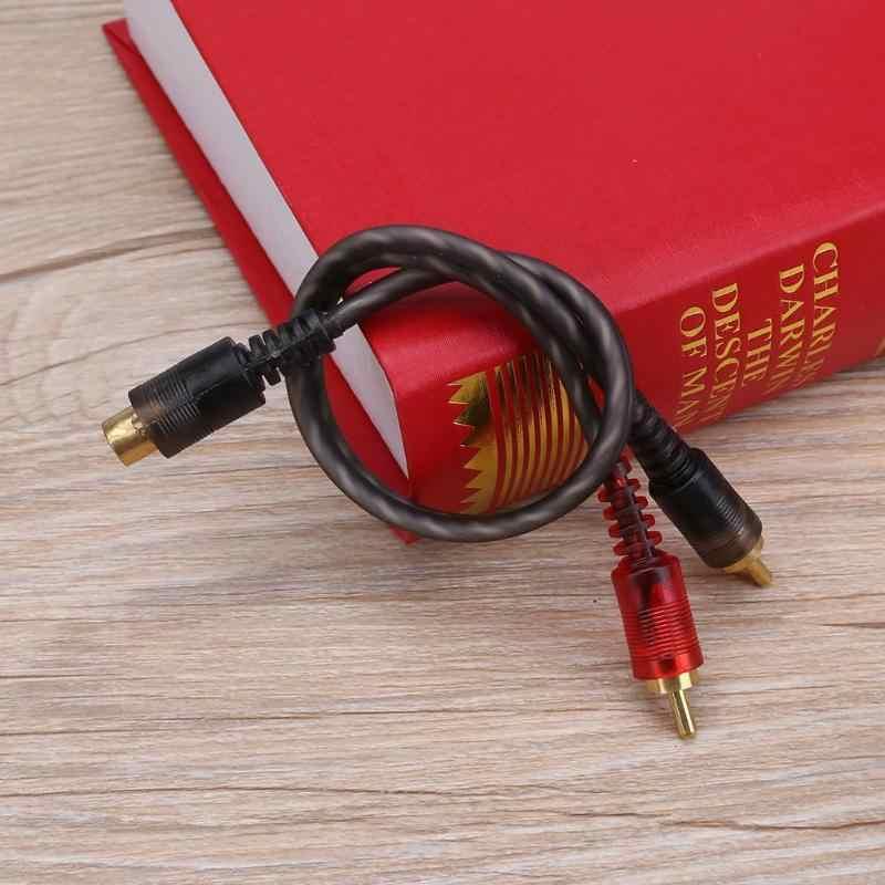 1 Pc 27 Centimetri 1 Rca Femmina a 2 Rca Maschio Cavo Del Divisore per Il Sistema Car Audio
