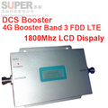 FDD LTE 4G booster LCD display 55dbi gain 500sq meter work,DCS 1800mhz  booster,DCS signal repeater DCS repeater DCS booster
