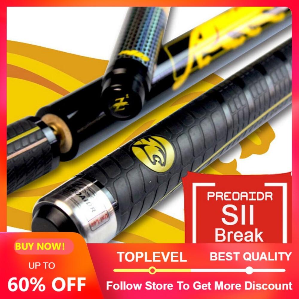 2019 New PREOAIDR 3142 Brand S2 Break Cue Pool Punch Jump Cue 13mm Tip Billiard Stick