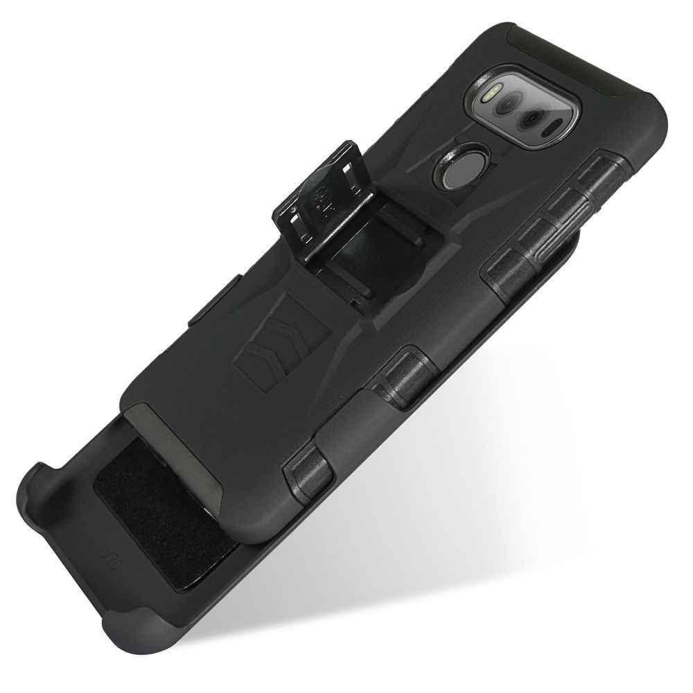 G8 чехол для LG G8 THINQ Q stylo4 qstylus чехол Heavy Duty кобура пластиковый чехол с поворотной застежкой противоударный бронированный чехол для LG G5 G6 G7 чехол для телефона