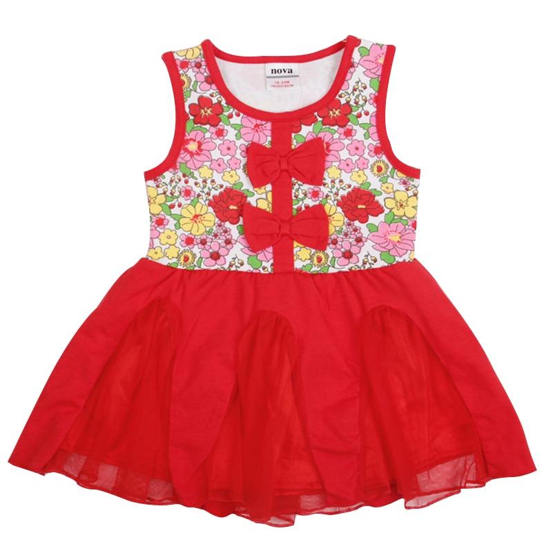 Aliexpress.com : Buy Nova Sleeveless Girls flower dresses children ...