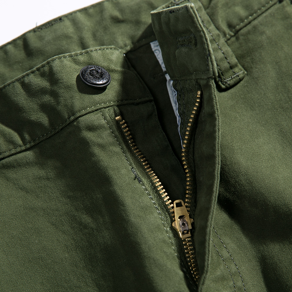 2018 New Men Cargo Pants army green big pockets decoration mens Casual trousers easy wash male autumn army pants plus size 38 - 3