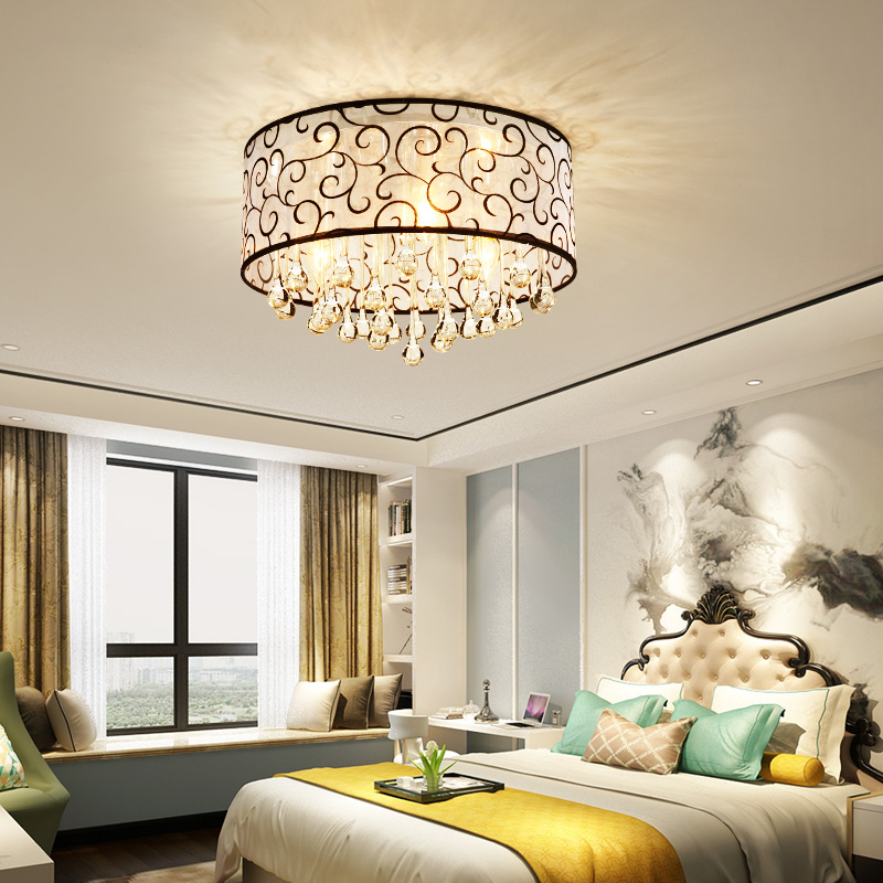DX Luxury Crystal Led Ceiling Light Home Decor Lighting Cloth Shape Clear Glass Pattern Lamp Living Room Bedroom White Luster   DX Luxury Crystal Led Ceiling Light Home Decor Lighting Cloth Shape Clear Glass Pattern Lamp Living Room Bedroom White Luster