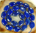 "AA 13x18mm Natural Egyptian Lapis Lazuli Oval loose Beads jewelry Natural Stone 15""MY4323 Wholesale Price"