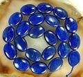 """Aa 13 x 18 mm Natural egipcia Lapis Lazuli loose Beads Oval piedra Natural de la joyería 15 """" MY4323 precio venta al por mayor"""