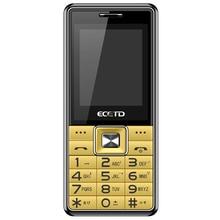 Бесплатная доставка ecetd N198 сотовом телефоне золотой цвет Низкая цена Длинные резервный аккумулятор один год гарантии 2 г большой объем 240*320