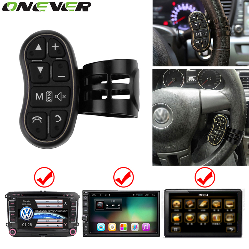Onever Universal Wireless Steering Wheel Remote Control ...