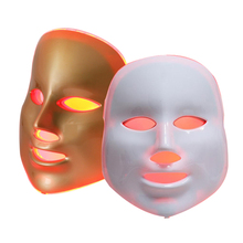 Beauty Photon LED Facial Mask Therapy 7 colors Light Skin Care Rejuvenation Wrinkle Acne Removal Face Spa Beauty Led Mask portable 7 colors lights led skin rejuvenation face photon therapy ultrasound body ultrasonic facial massager spa beauty machine