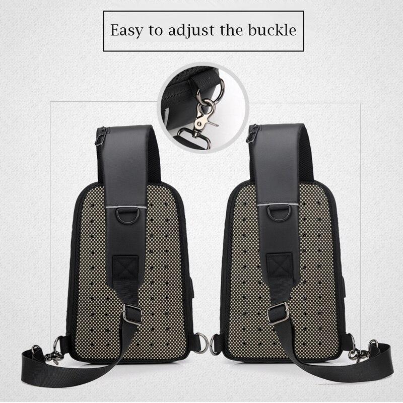 Water Repellent Crossbody Bag 3