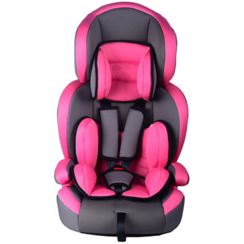 Portable Protection Cushions In Car For Kid And Children Safety Infant Baby Car Seats For 9M~12Y Kids Luxury Breathable Cushions