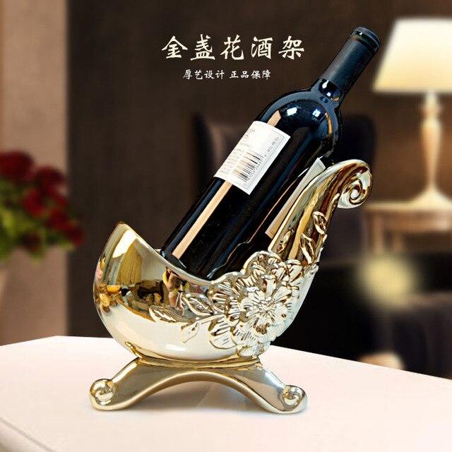 europeenne casier a vin en ceramique decoration salon decoratif vitrine decor de mariage cadeau vin