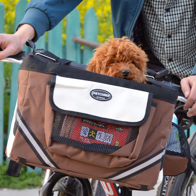 Oxford Xiaomi Mijia EF1 Qicycle E-Bike Scooter Bicycle Basket Pet Puppy Cat Dog Carrier Bag Box Detachable Front Goods Carrier