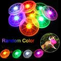 Funny Toys Flying LED Disk Light Up Flashing Frisbee Outdoor Multi Color Kids Toys