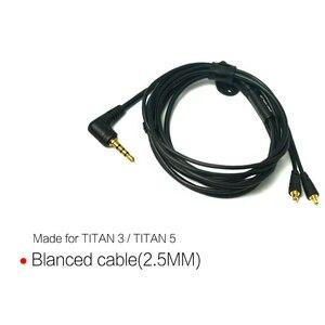 Image 3 - DUNU Original 3.5mm single ended ( MIC 2.5mm/3.5mm Balanced ) Earphone Cable  for TITAN3 TITAN5 1.2M