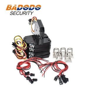 Image 3 - 5pcs 201A Magnetic Lock DC 12V Electric Lock Electromagnetic Door Lock for Smart Express Cabinet Vending Machine Solenoid Lock