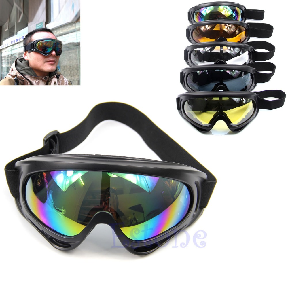 New Snowboard Dustproof Sunglasses Motorcycle Ski Goggles Lens Frame Glasses Paintball Outdoor Sports Windproof Eyewear Glasses image