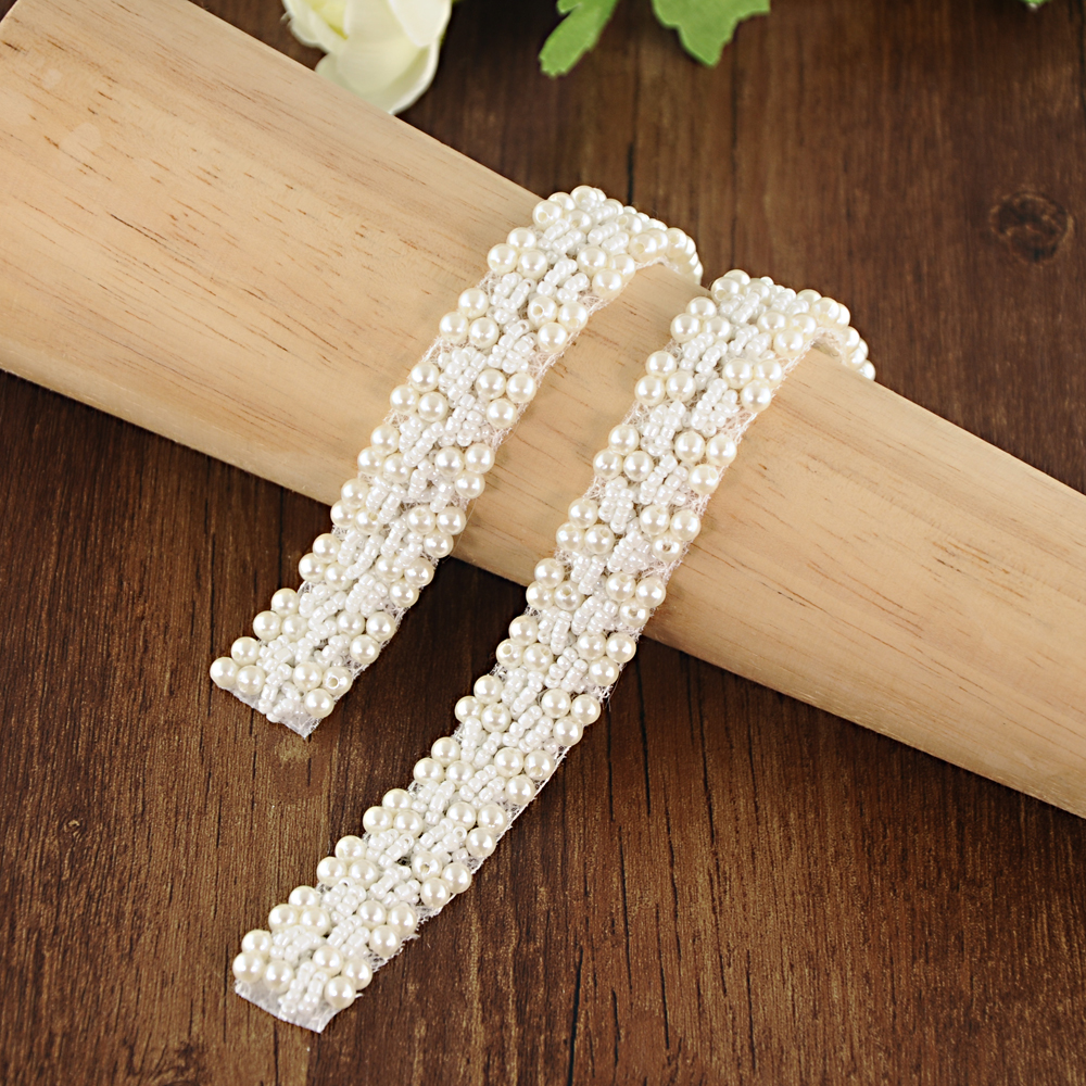TOPQUEEN S204A Pearl Belt Wedding Bridal Sash Wedding Dress Belt With Pearls Wedding Gown Sashes And Belts Wedding Sashes