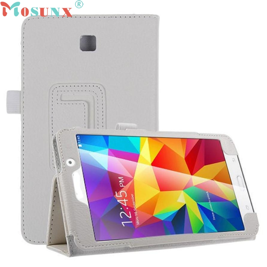 Top Quality Modern Design Leather Case Stand Cover For Samsung Galaxy Tab 4 7Inch Tablet SM-T230 SM-T231 JUL 20