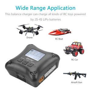 Image 3 - HTRC H4AC DUO 20W x2 2A x2 Mini Portable RC Charger 2 4s Lipo Battery Charging Dual Port