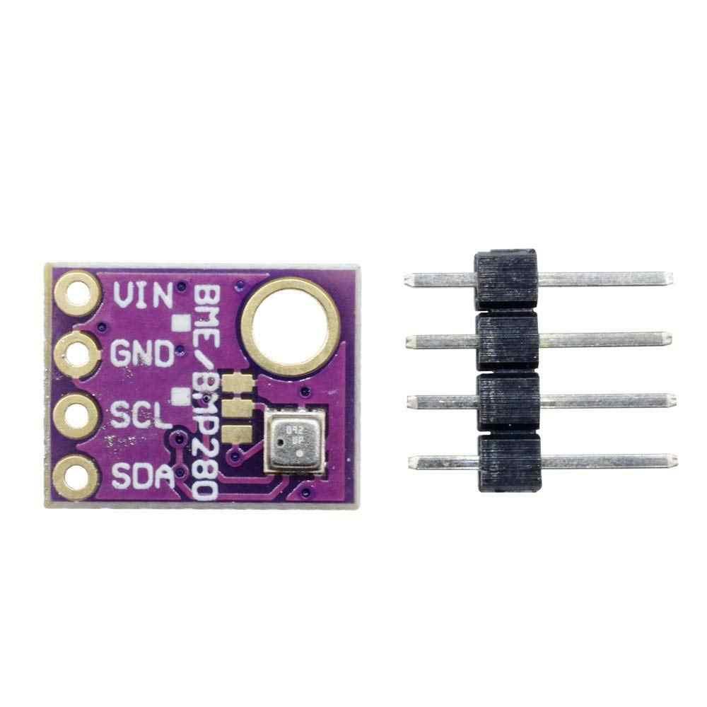 WINGONEER GY-BME280-3.3 BME280 Atmospheric Pressure Sensor Module for Arduino SPI IIC