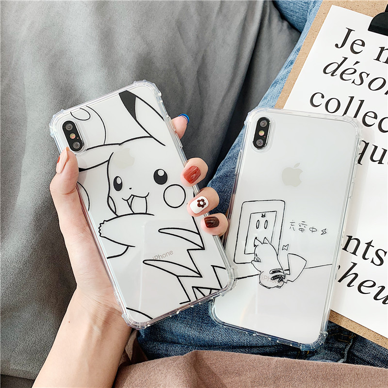 cartoon-pocket-monsters-case-silicone-tpu-cover-for-iphone-6-6s-7-8-plus-x-font-b-pokemon-b-font-pikachu-foe-iphone-xr-xs-xs-max-phone-case