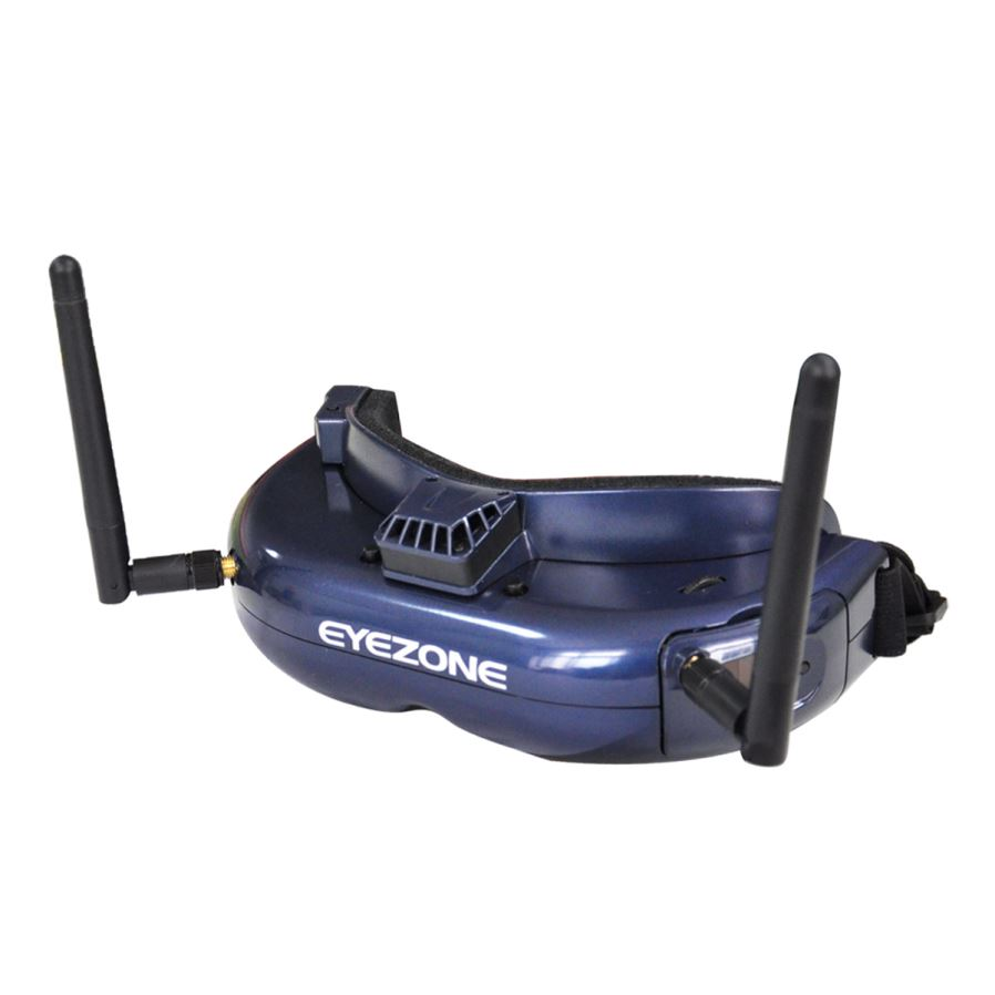 EyeZone Yuan 5.8G FPV Goggles with OLED Screen Diversity Dual Receiver DVR Record 640 X 480 VGA for RC Racing Drone skyzone sky03 fpv goggles 5 8g 48ch 3d diversity receiver with head tracking front camera dvr for rc racing drone