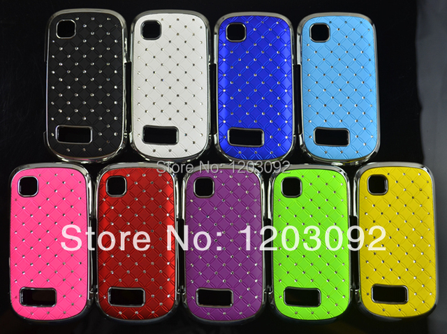 size 40 eba22 e724e US $6.5 |1 pcs Retail Diamond Bling Luxury shining stars Plating Chrome  Protector Cover Hard Case For Nokia Asha 200 201 on Aliexpress.com |  Alibaba ...