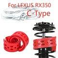 Jinke 1 пара передний амортизатор SEBS размер-C бампер Подушка амортизатор пружинный буфер для Lexus RX350