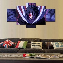 5 Panels Modern Home Decoration Naruto Anime Painting On Canvas Room HD Print Poster Picture Artwork