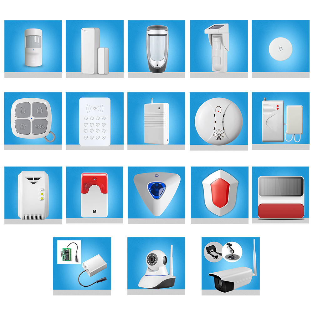 Smarsecur Wireless Alarm Sensors Accessories For G90B PLUS S2W S2G S1 WiFi GSM Home Alarm System доска для объявлений dz 1 2 j8b [6 ] jndx 8 s b