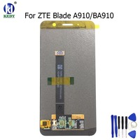 For ZTE Blade A910 BA910 AMOLED LCD Display Touch Screen Digitizer With Sensor Glass Assembly Replacement