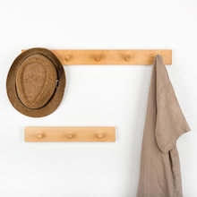 Solid Wood Hook Creative Contracted More Rows Hook Coatrack Multi-purpose Receives Wall Act The Role Ofing Household Decorations(China)